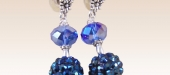 Blue-topaz-crystals-shambala-disco-earrings