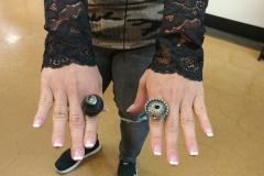 Joint Base Bolling - Turban Shell Ring & Antique Bottle Cap Ring