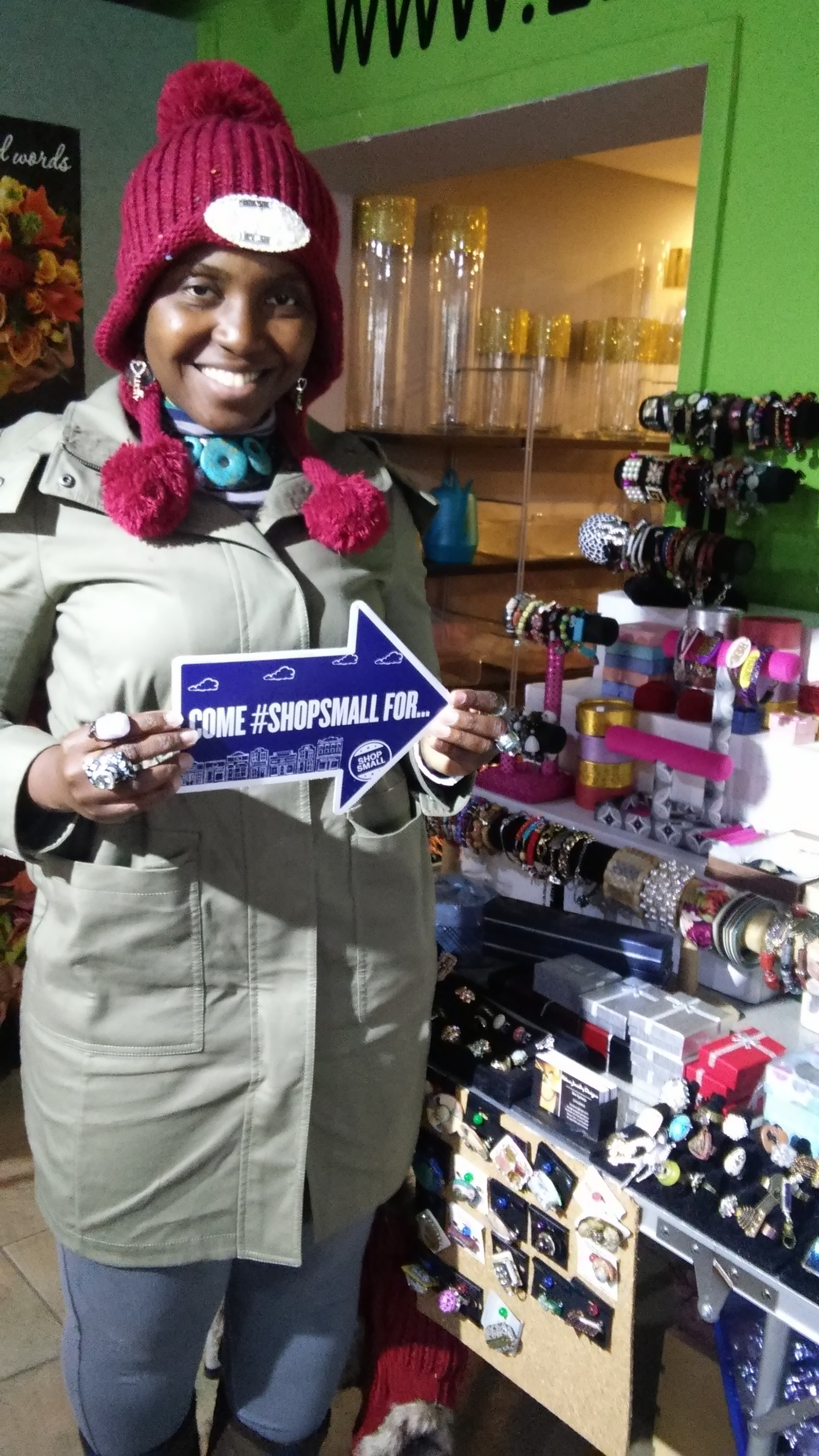 Lee's Flowers Small Business Saturday 2015