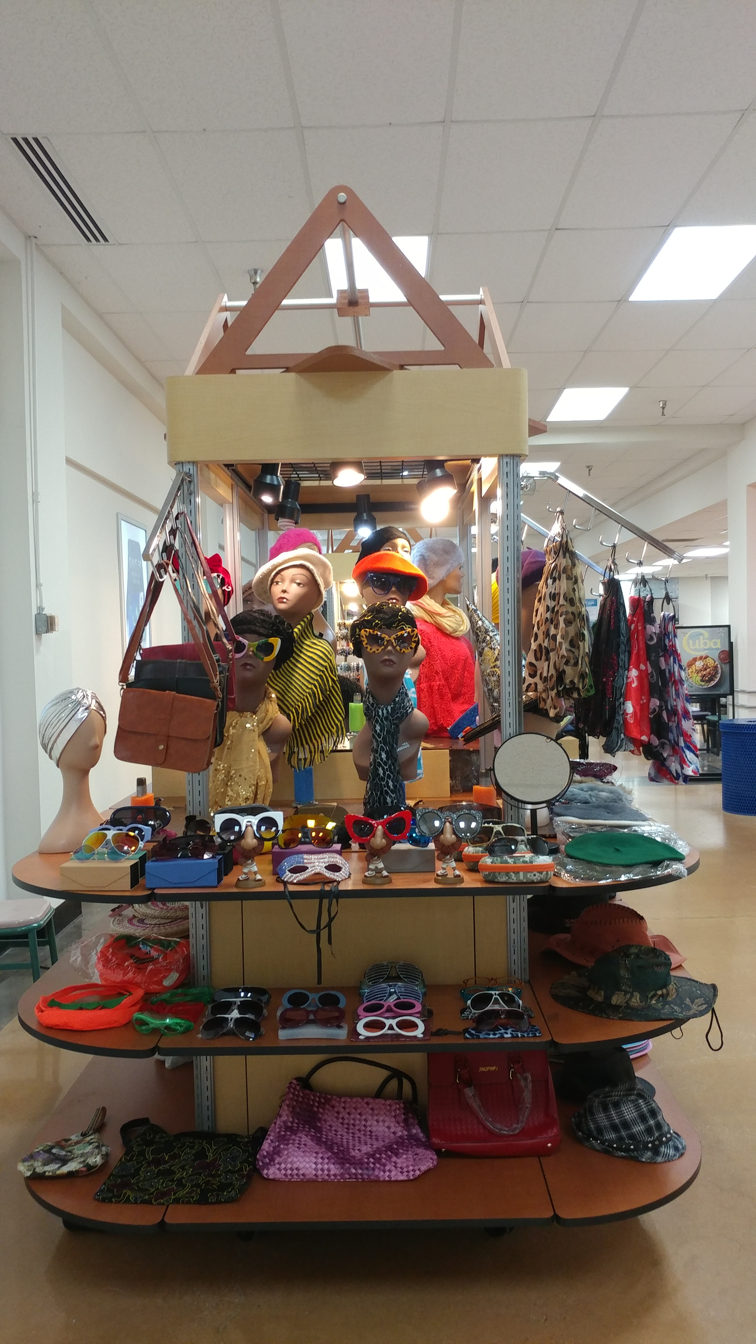 Joint Base Bolling - Accessories Display