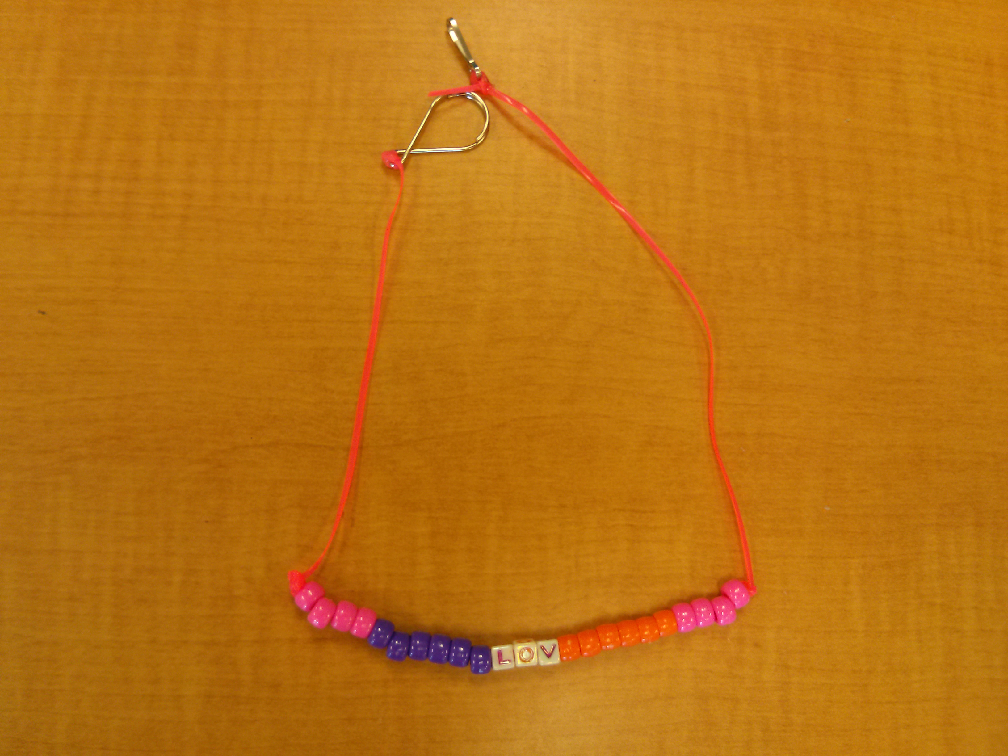 Necklace Designed by Kids Guided by Nikus