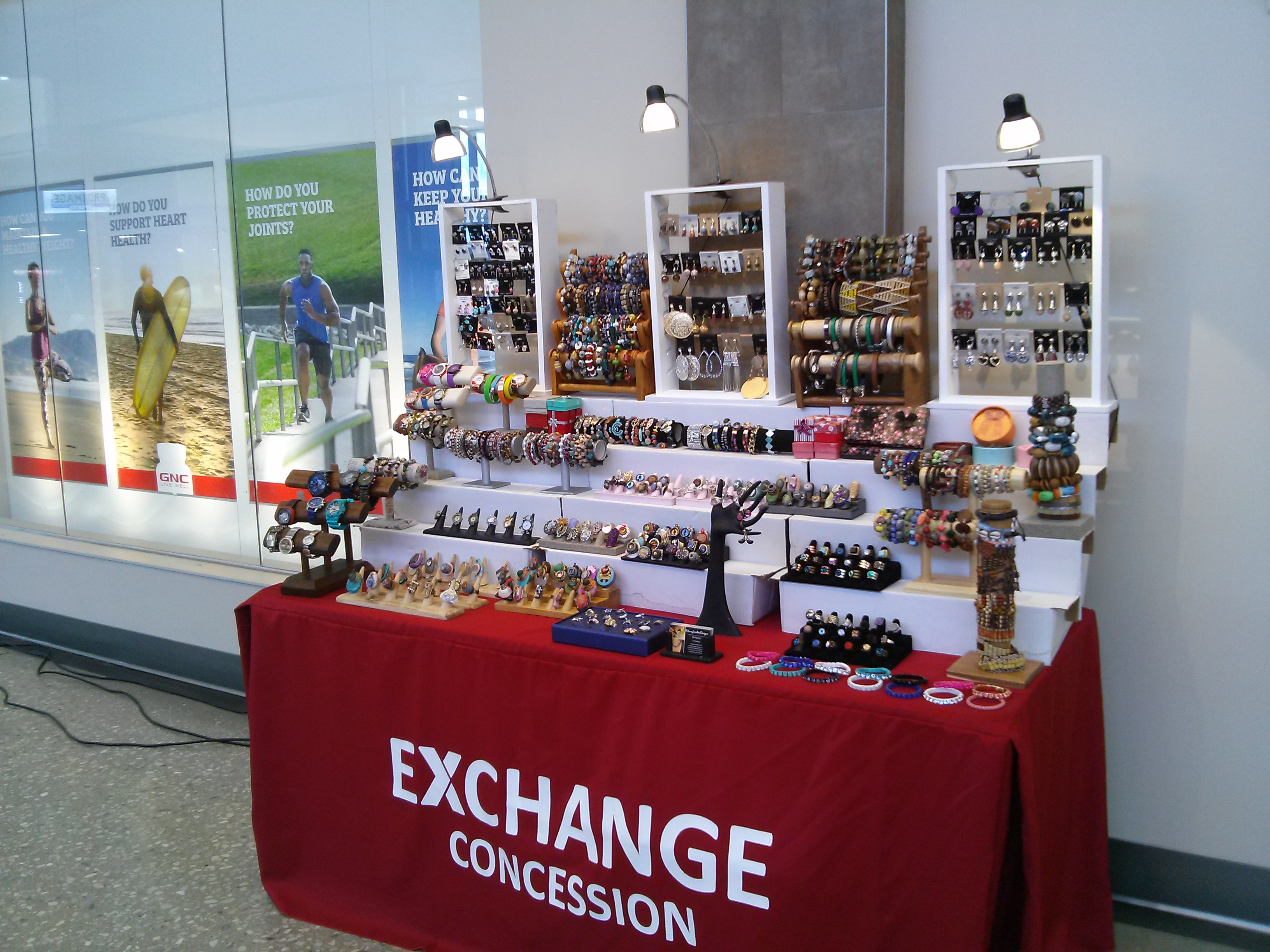 Fort Meade Army Base Table Display March 2017