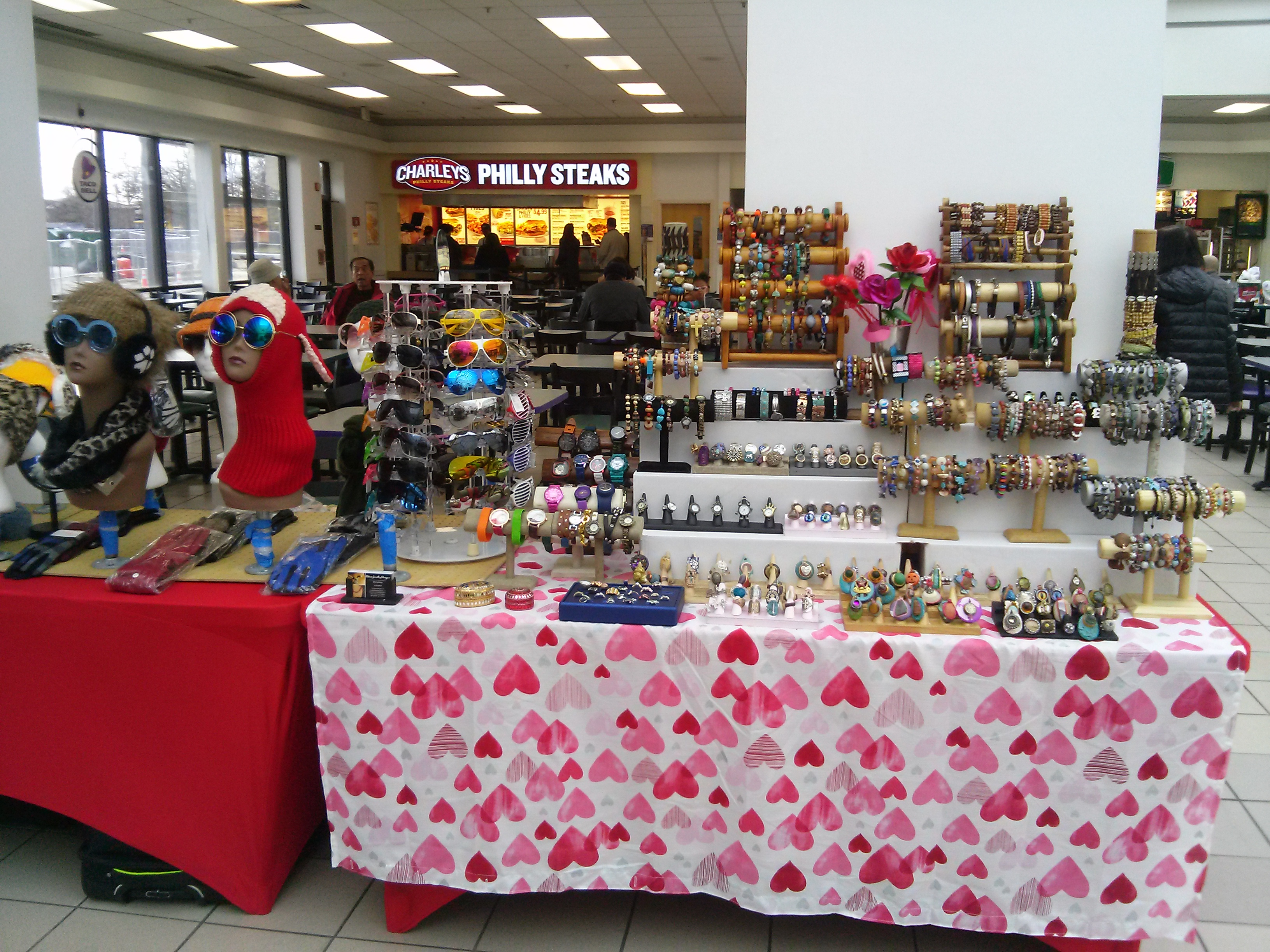 Our Display @ Andrews Airforce Base February 2017