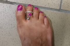 WALTER REED MEDICAL CENTER JULY 2017- CUSTOMER & TOE RING