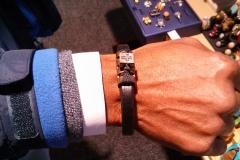 Customer & Nikus Leather Bracelet @ NASA