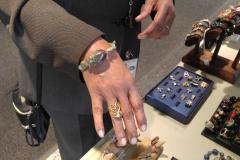 Customer in Nikus Turquoise Bracelet @ NASA