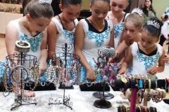 Salisbury Arts Show Sept. 2015 - Little Ballet Princesses Visit Nikus Booth