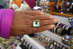 Nikus Ring with Crystal Glass