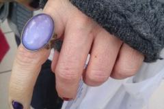 Customer & Clear Opal Ring