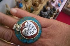 Customer & Mosaic / Heart Ring