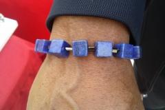 Customer in Lapiz Lazuli Bracelet