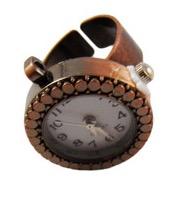 Bronze Clock Ring